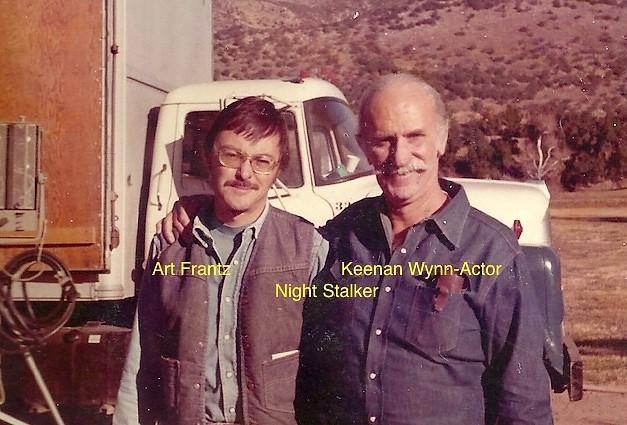 Actor Keenan Wynn & Art Frantz