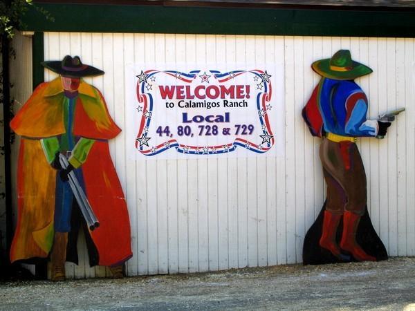 Calamigos Ranch picnic poster
