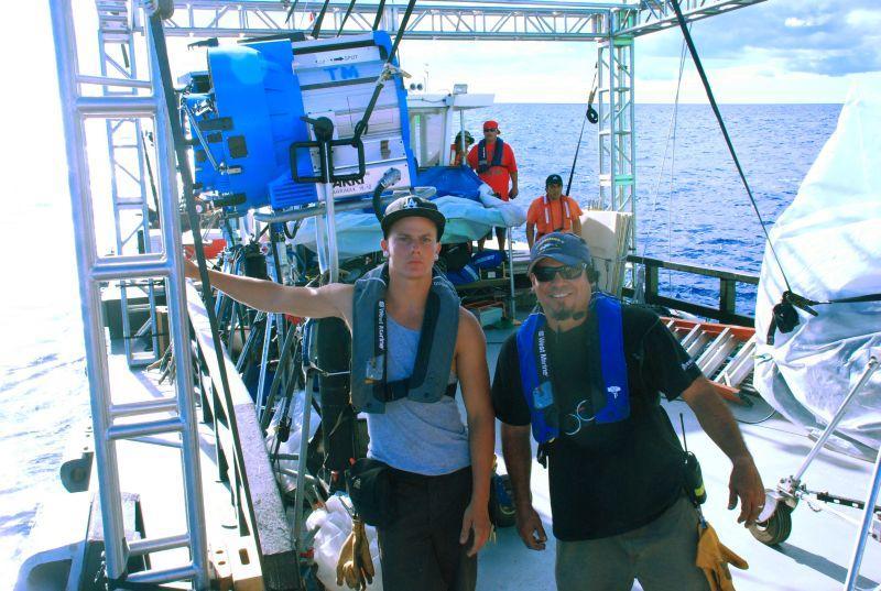 Joey Krattiger & Franky Jimenez, Lighting Boat
