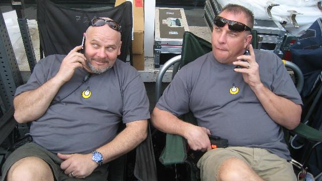 Mike Tolochko, Don D. Davidson, 2008 (Photo by the Bauman Crew)
