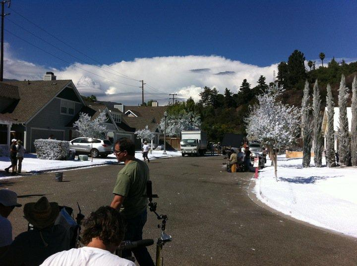 Season 5. Snow in September in Filmore. (Photo by Kelly Clear)