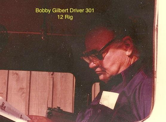 Bobby Gilbert, Driver 301