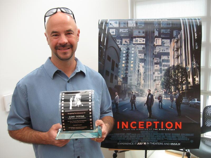 "Cory Geryak, 2011, ""Inception"""