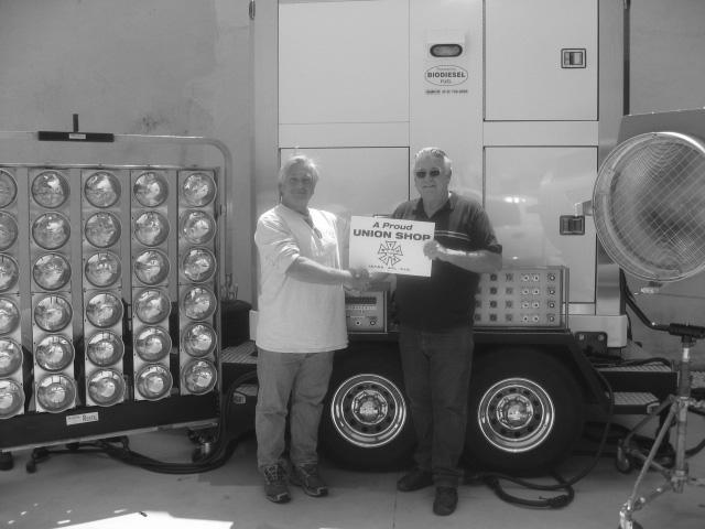 Patric Abaravich - Bus. Rep., with Ron Dahlquist-owner of Dadco