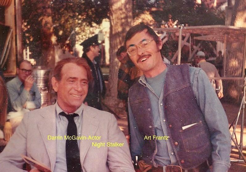 Actor Darrin McGavin & Art Frantz