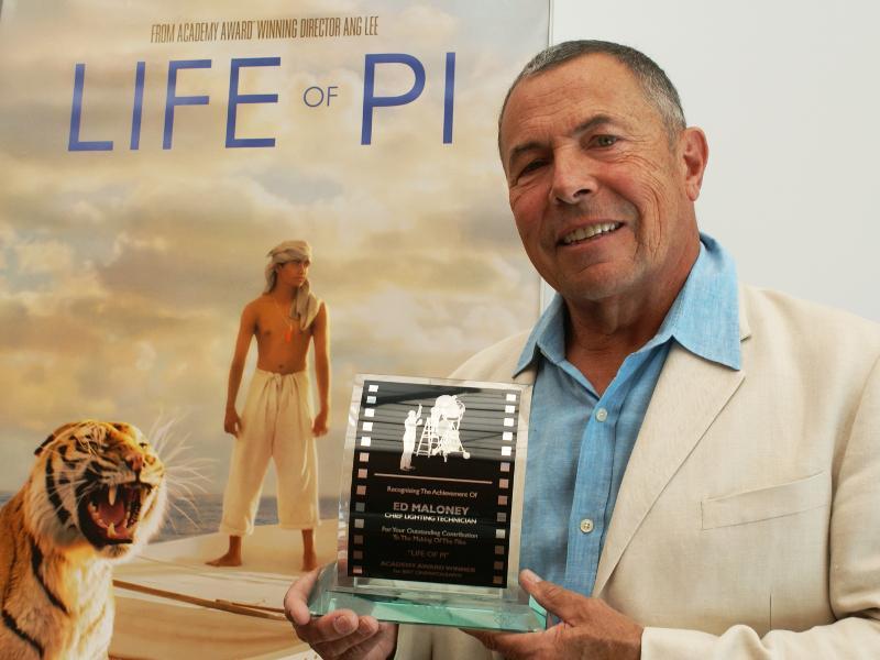 "Ed Maloney, 2013, ""Life of Pi"""