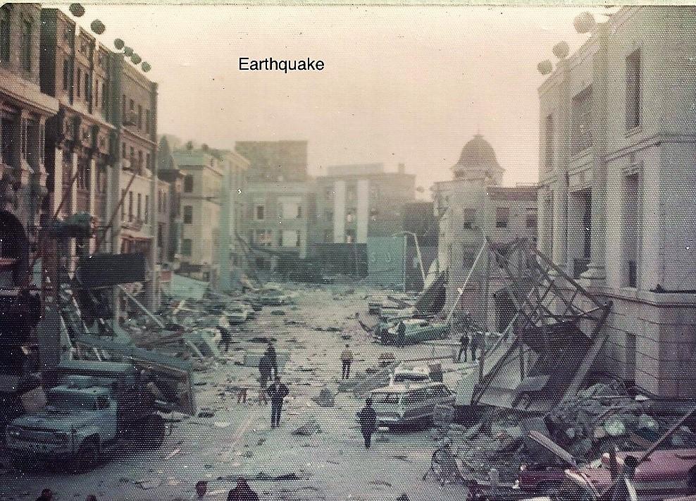 "Set of ""Earthquake"""