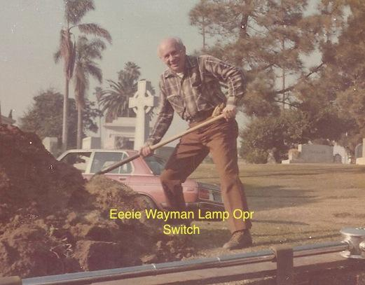"Eddie Wayman - Lamp operator ""Switch"""