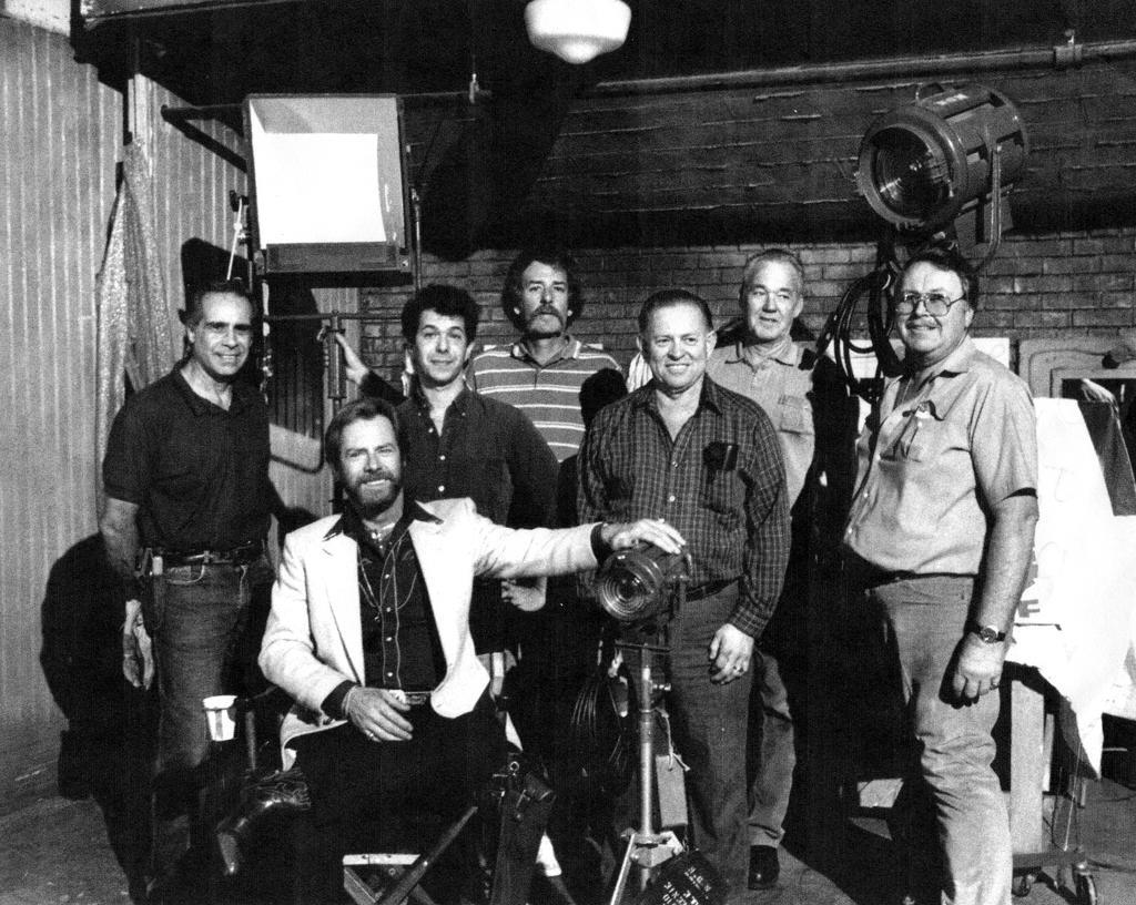 """Bob Eals BB, Ken Kalous Gaffer, Gary Mayer, Jon """"Tuna"""" Atunovich, Jim DeSautel, Jim Pursell, Drain Marshall, circa early 1980's"""