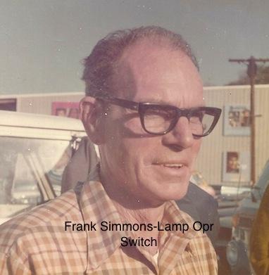 "Frank Simmons - Lamp operator ""Switch"""