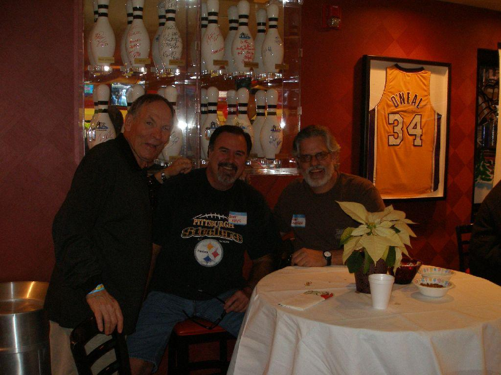 Jerry Posner, Scott Keys and Gary Andersen