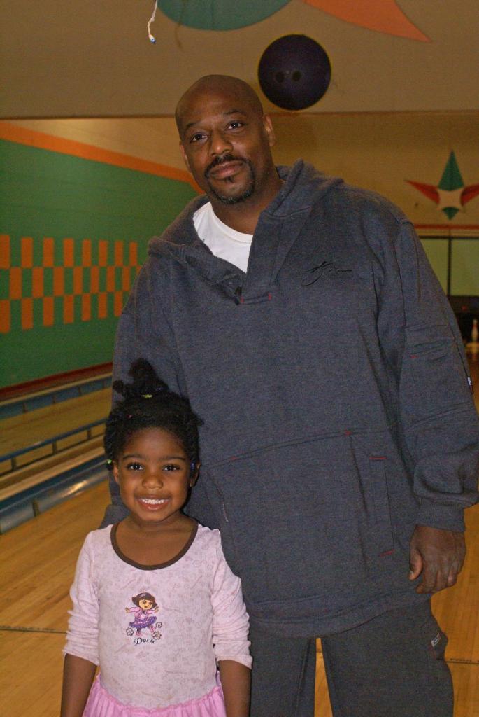 Patrick Toole & daughter.