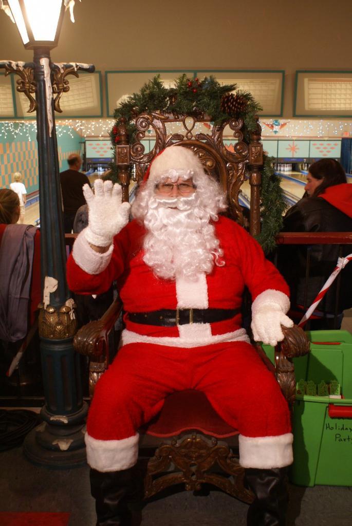 Santa stopped by.