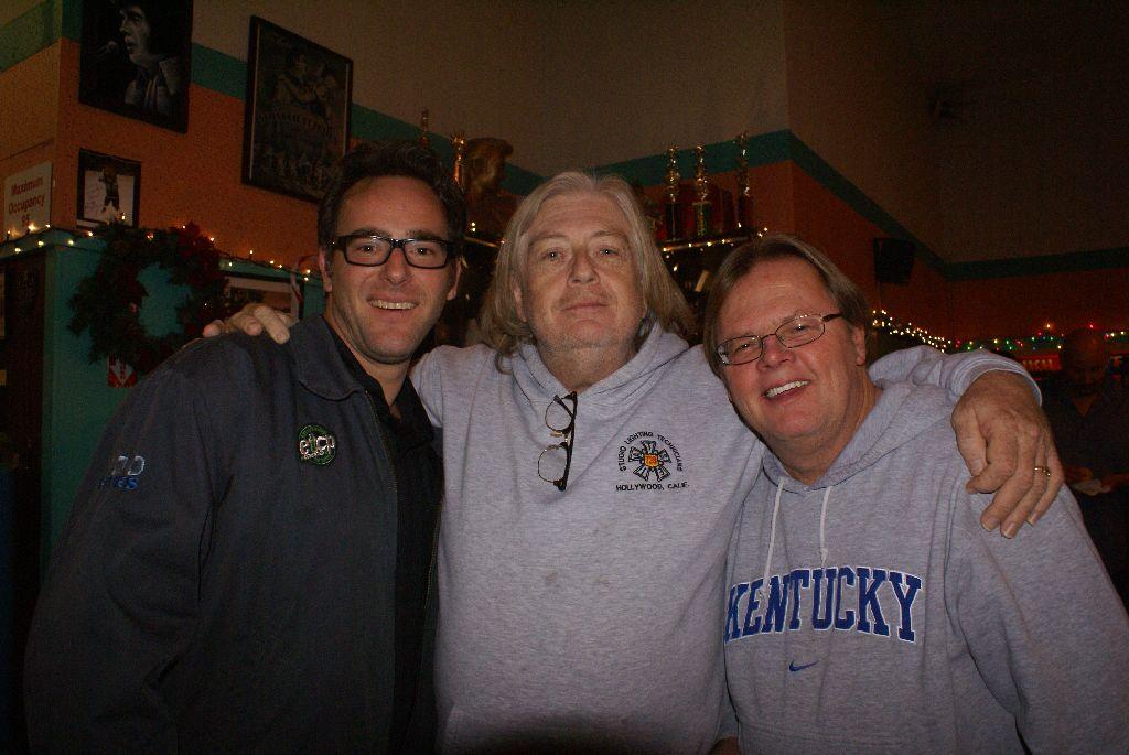 Mike Francisco, Patric Abaravich and a member that likes Kentucky