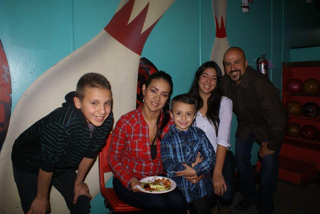 Manny Tapia & Family