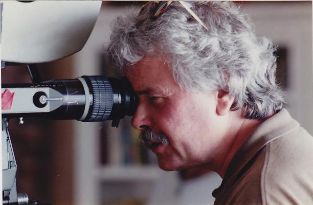 On the job in 2000, (photo contributed by Cal Maehl)