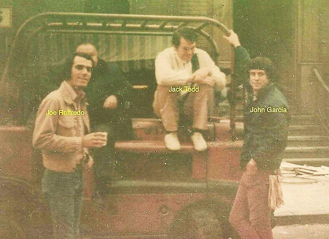 Joe Roffredo, Jack Todd, John Garcia