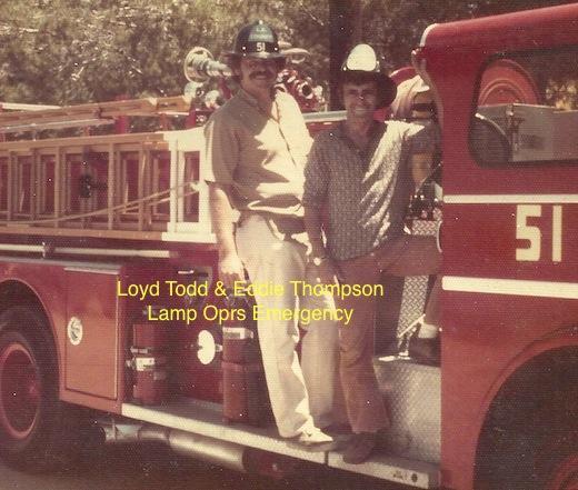 """Lloyd Todd & Eddy Thompson - Lamp ops """"Emergency"""""""