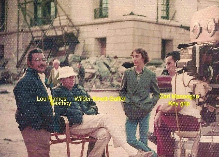 Lou Ramos, Wilbur Kinnett, Carl Manoogan