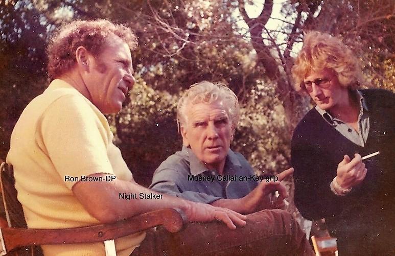 DP Ron Brown & Key Grip Mushey Callahan