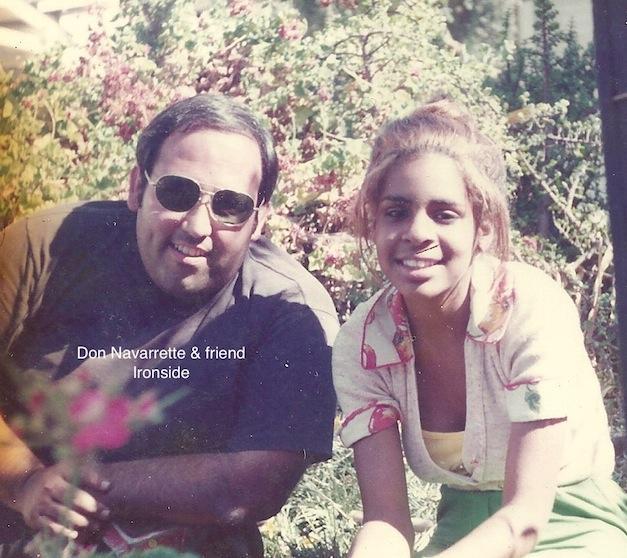 Don Navarette & friend