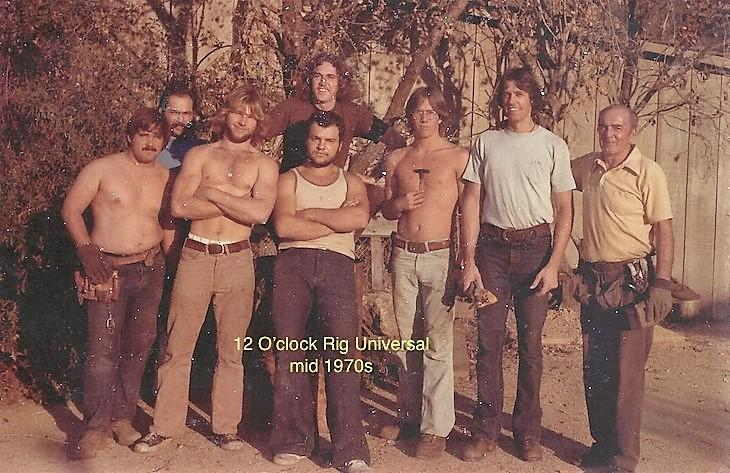 12 O'Clock Rig Crew Universal Mid-1970's