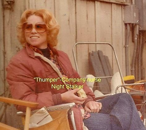 """Company nurse """"Thumper"""""""