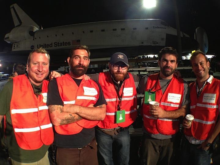 Lukas Hencey, Conan Mastrangelo, Erik Messerschmidt (CLT), Andrew Korner (ACLT), Nick Kaat. October 12, 2012