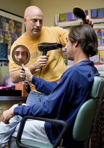 Hair dresser & 728 member Dan Jones (Courtesy of Thomas W. Marshall)