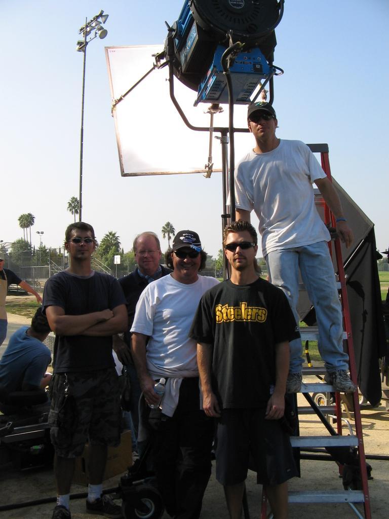 Mike Piekutowski, Doug Bard, Scott McKnight, 10-2005 (Photo by Karen Weilacher)