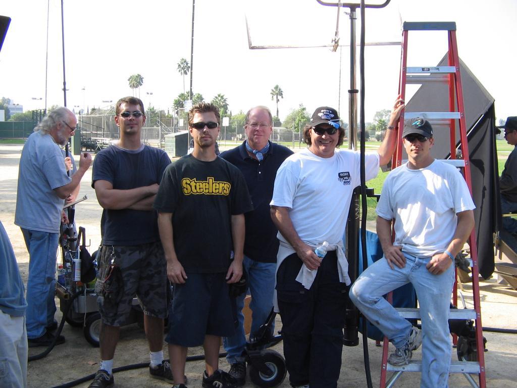 Mike Piekutowski, Doug Bard, Scott Mcknight, Monty, 10-2005 (Photo by Karen Weilacher)