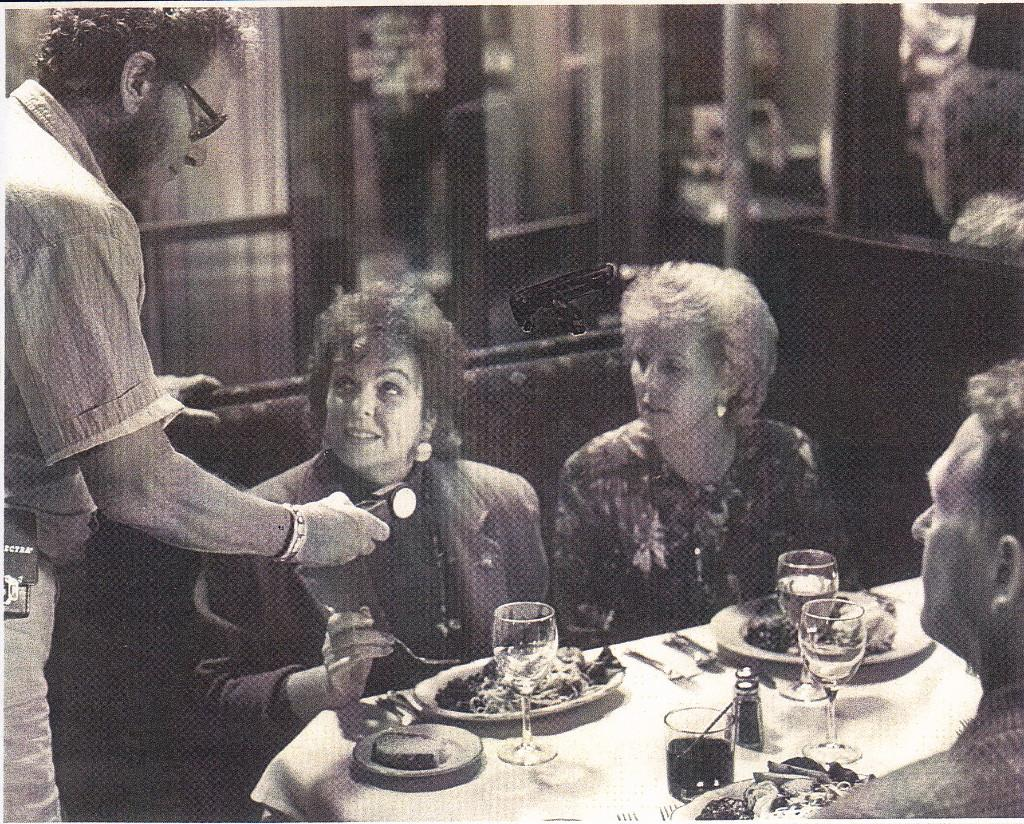 """Rich """"Aggie"""" Aguilar in action on """"Sleepless in Seattle,"""" 1992 (photo contributed by Richmond """"Aggie"""" Aguilar)."""