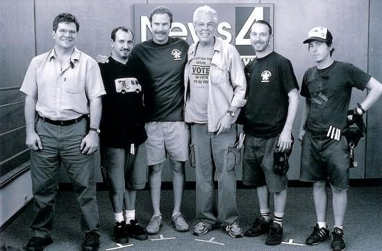 Alan Rowe LCP, Alan Colbert, Will Farrell, Michael Everett CLT, Andy Horton, Jim Hamner (Photo by Michael Everett)