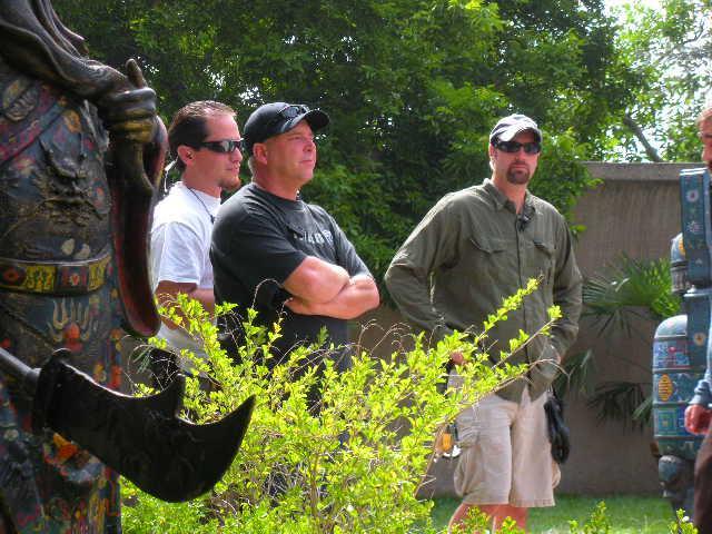 Mike Visencio, Mike Graves, and Damon Leibowitz Chillin