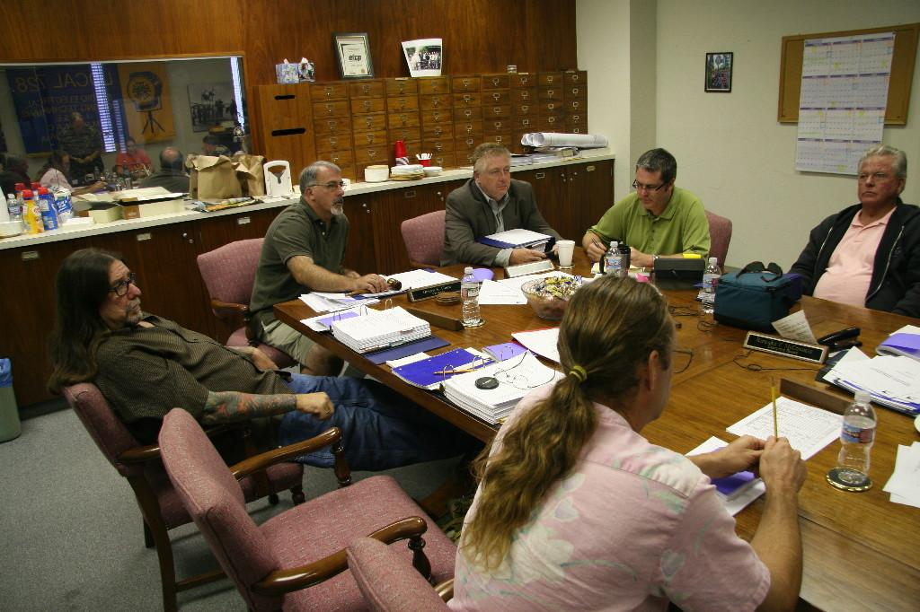 Executive Board, ~2008 [See Note #1 below] (Photo by Michael Everett)