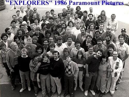 Explorers Crew Shot (1986)