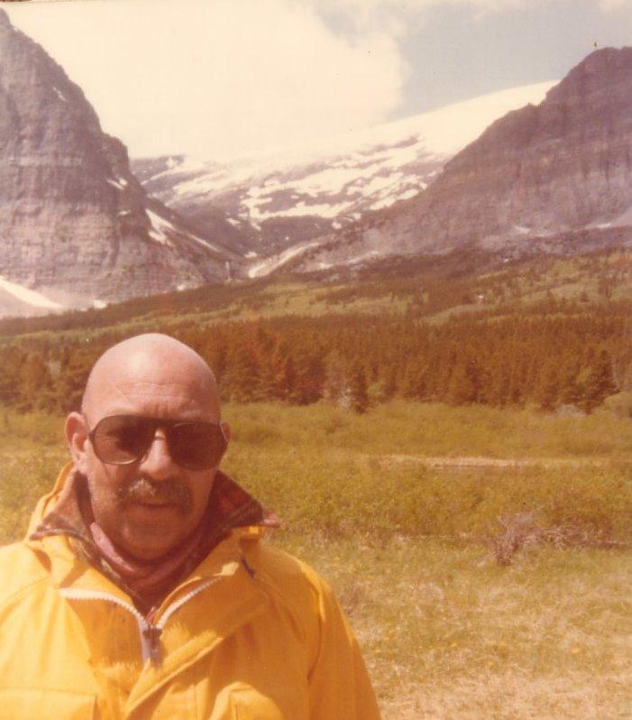CLT Lee Heckler, West Glacier, Montana, 1980 (photo contributed by Jerry Posner)