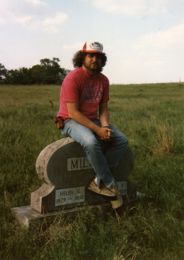 Steve Mathis, Lincoln, Nebraska, 1986 (Photo by Michael Everett)