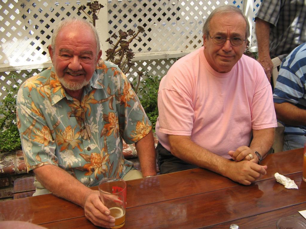 Chuck Sefton, Norman Glasser (Photo by Karen Weilacher)