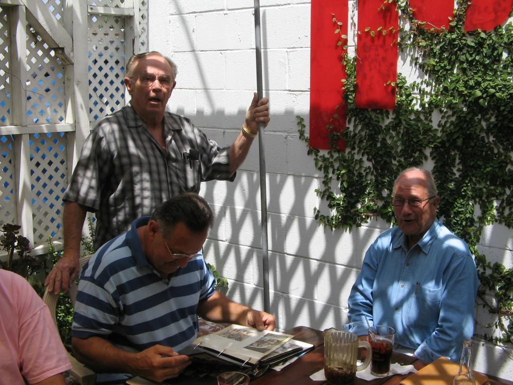 Don Dahlquist, John Trujillo, Bill Tenny (Photo by Karen Weilacher)