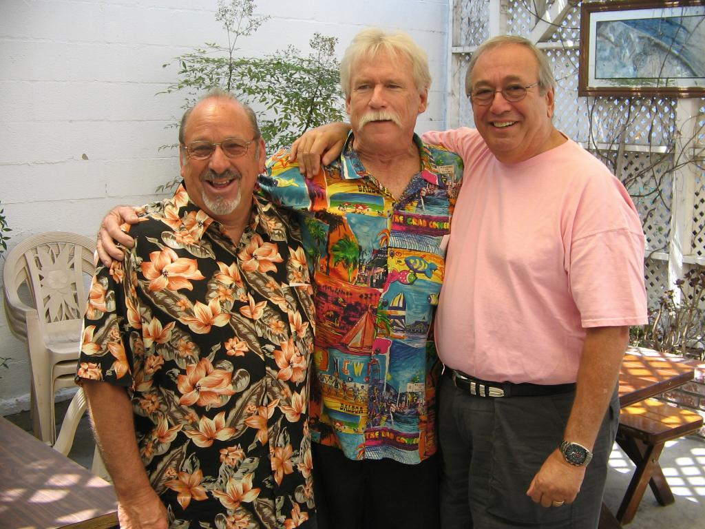 Earl Williman, Gary Tandrow, Norman Glasser (Photo by Karen Weilacher)