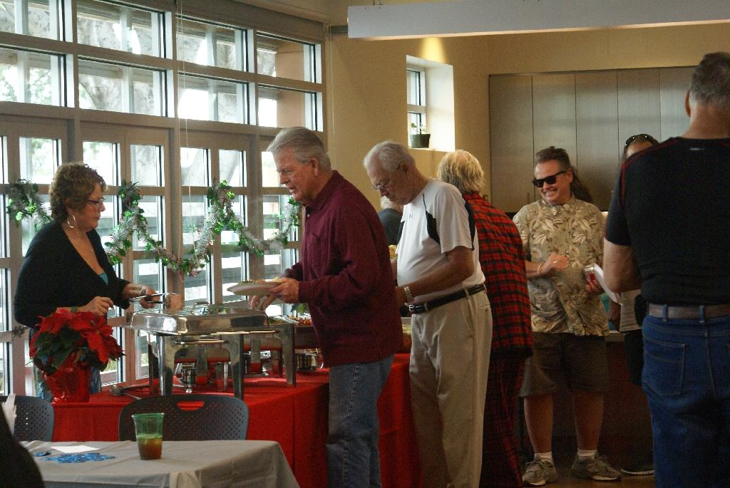 2014 Retirees Holiday Party