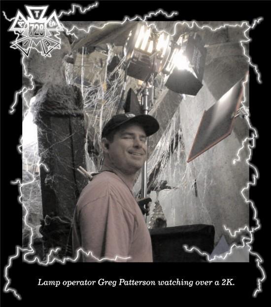 Greg Patterson (Photo by Scott Barnes)