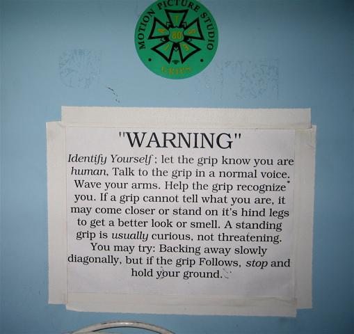 Found on a Grip door...