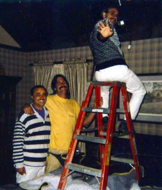 Moshe Nahamias LCP, Jeff Smith, Peter Portizo, 1993 (Photo by Karen Weilacher)
