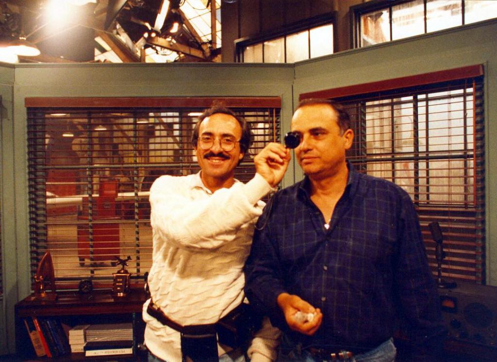 Peter Portizo CLT & Moshe Nahamias LCP,1992 (Photo by Karen Weilacher)