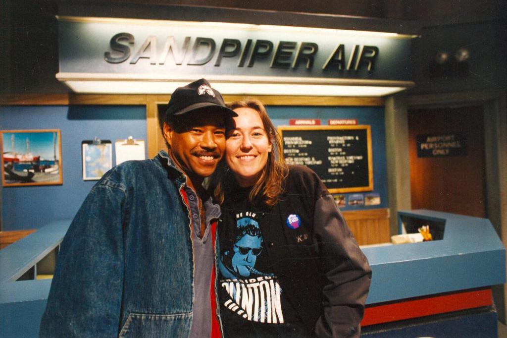 Constancio Babilonia & Karen Weilacher ACLT, 1993 (Photo by Karen Weilacher)